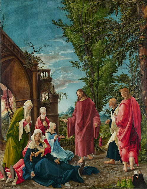 Albrecht Altdorfer - Christ taking Leave of his Mother - Google Art Project.