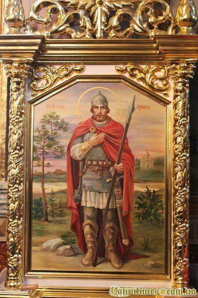Ікона Іллі Муромця з часткою мощей