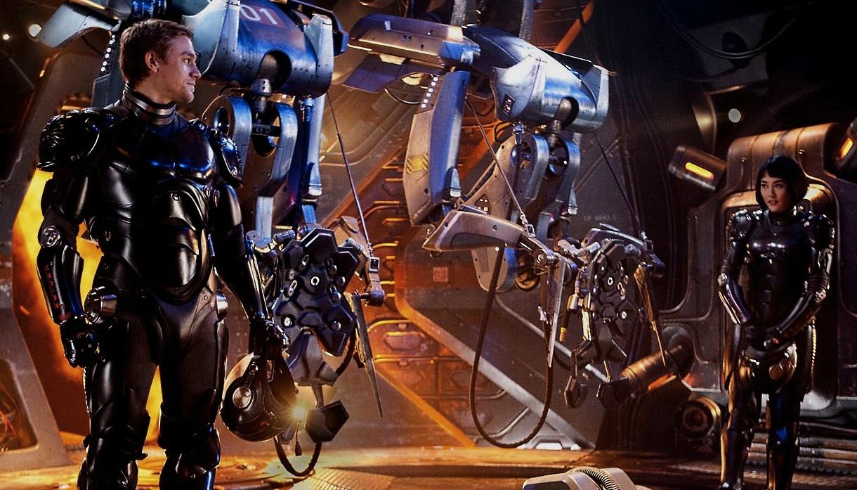 *環太平洋Pacific Rim:菊地凜子操控機器人大戰兇猛怪獸! 2