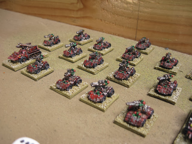 A Kult of Speed painted red to go faster.