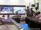Vidéo conférence de l'Onu du 26/11/2014 à Kinshasa. Radio Okapi/Ph. John Bompengo