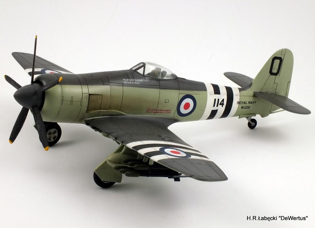 Korea 1950-53; Sea Fury FB.11, KITECH 1/48 DSCF3955