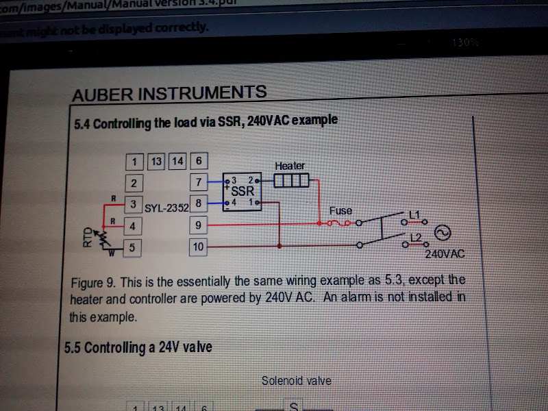 MyPin TA6 PID controller settings/wiring help - Home Brew Forums