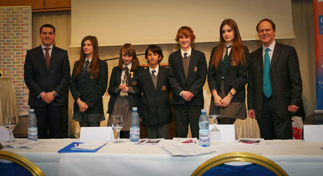 Principele Nicolae la Sir Winston Churchill Future Leaders Public Debating Competition