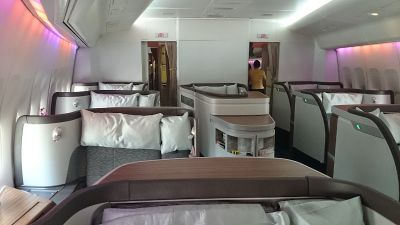 DSC 2865 - REVIEW - Cathay Pacific : First Class - Hong Kong to Tokyo (B747)