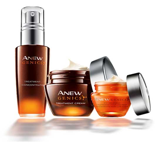 Avon Anew Genics Treatment Regimens