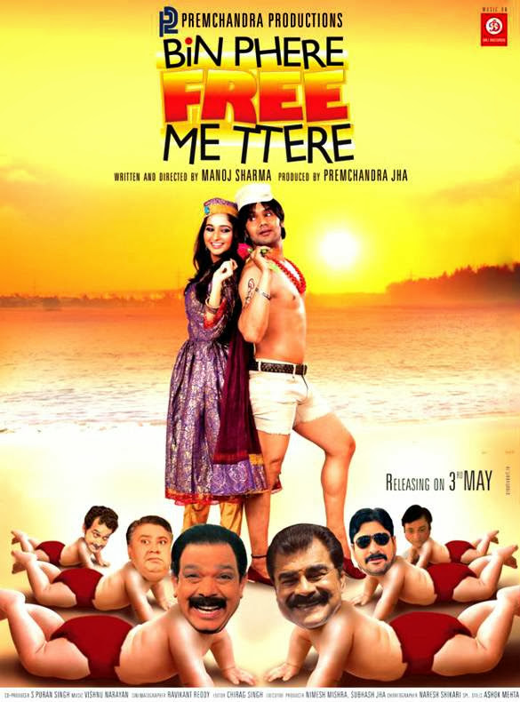 Poster Of Hindi Movie Bin Phere Free Me Tere (2013) Free Download Full New Hindi Movie Watch Online At Alldownloads4u.Com