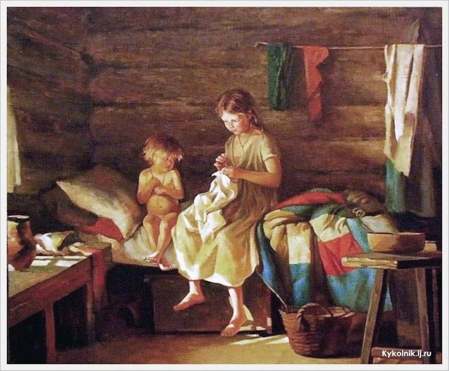 Художник  Лемох Кирилл (Карл) Викентьевич (Россия, 1841-1910)