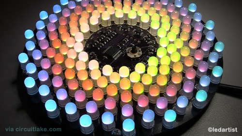 Nice RGB LED art