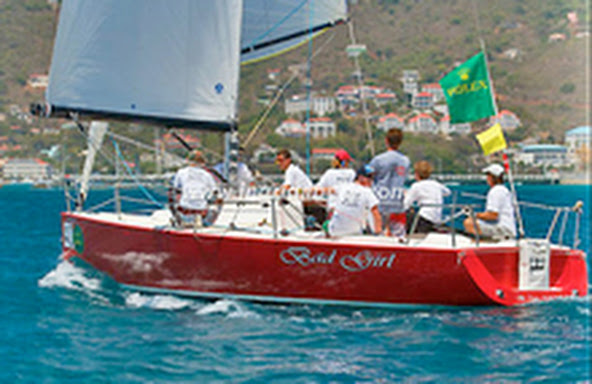 J100 sailing with a kids team- wins Rolex Regatta!