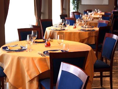 Restaurant in the Grand Hotel San Marino