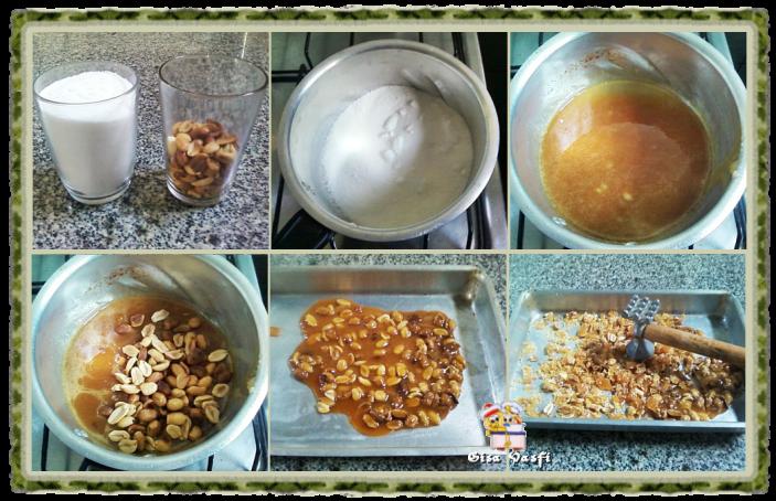 Pralinê de amendoim 3