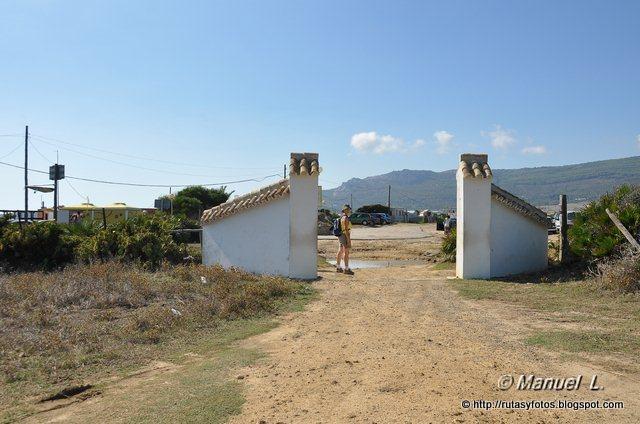 Acueducto de Punta Paloma y cantera romana de San Bartolo