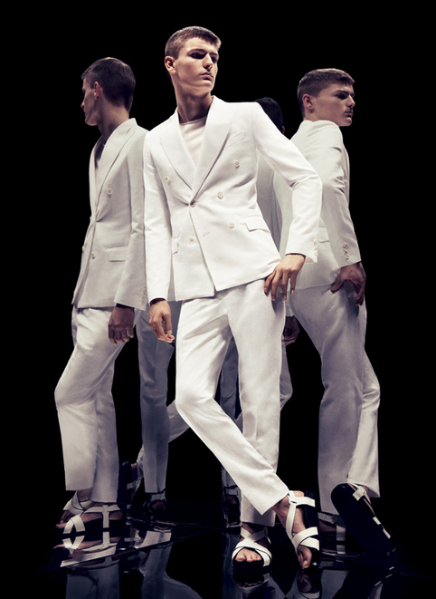 Alexander Beck @ FM/DNA for Ports 1961 campaign S/S 2012. Creative credits TBD.