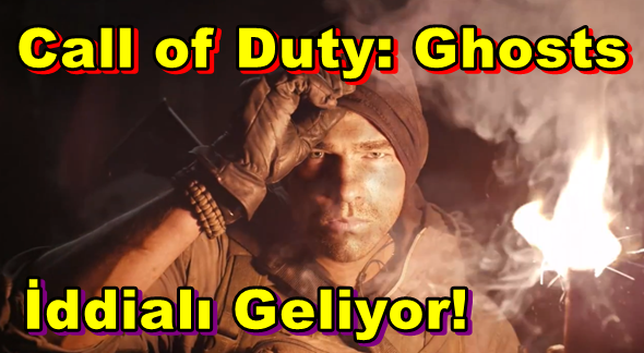 Call of Duty: Ghosts İddialı Geliyor!