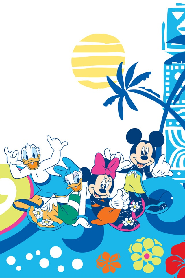 iPhone4S Wallpapers Disney and Friends