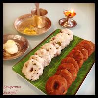 Karadayan Nombu Adai (Sweet & Savoury)