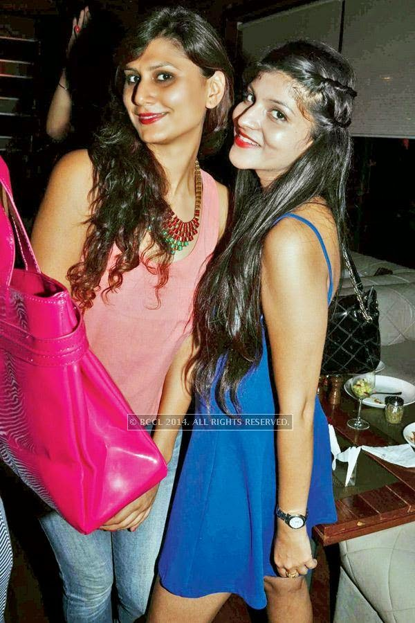 Ashitha and Prachi during a Sufi night, held at Sutra Gastropub, in Gurgaon.<br />