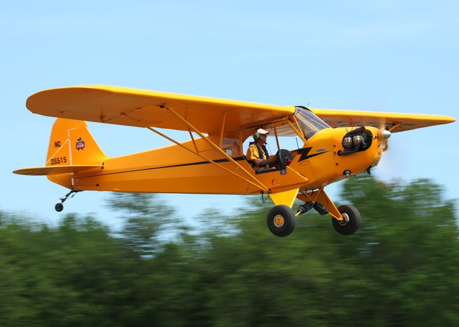Piper Cub, Campbell Field Airport