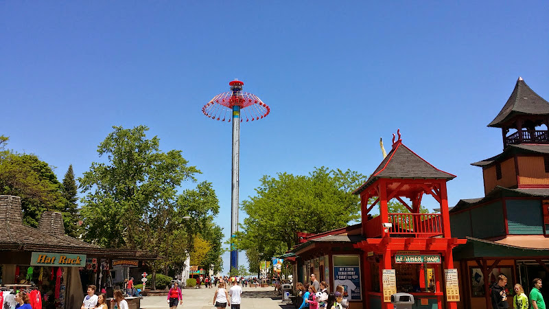 The Windseeker. From The Complete Guide to Visiting Cedar Point