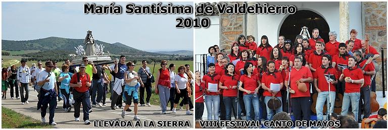 MARÍA SANTÍSIMA DE VALDEHIERRO 2010