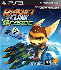 Jaquette de Ratchet & Clank: QForce