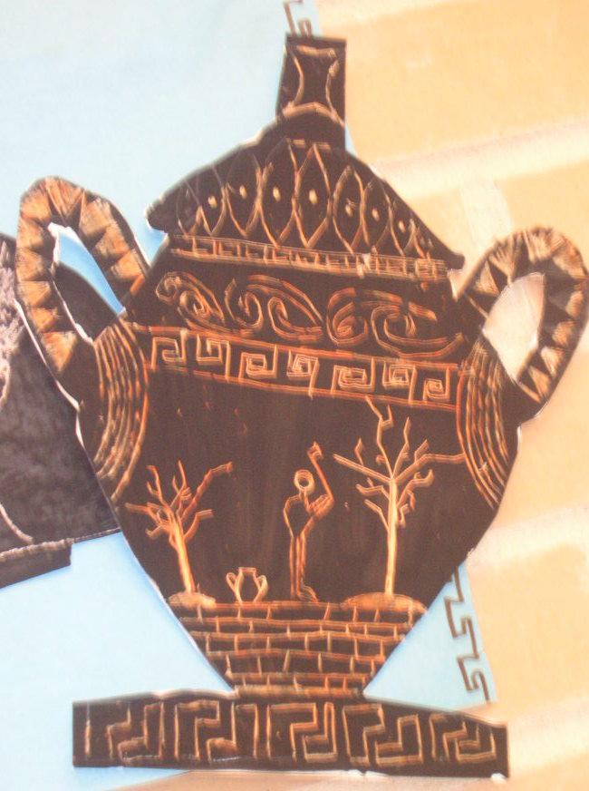 Greek Vases Art Class Ideas