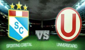 Universitario Cristal online vivo directo 18 Nov clasico