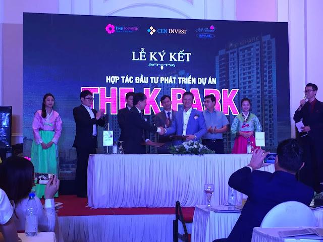 Lễ ký kết hợp tác dự án chung cư The K Park