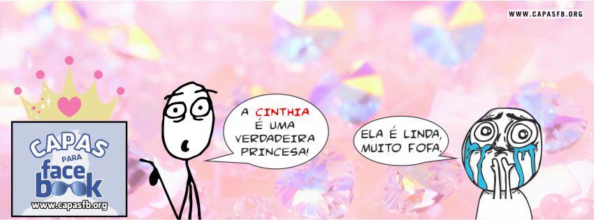 Capas para Facebook Cinthia