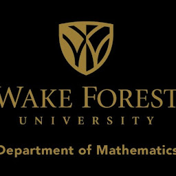 Wake Forest University Dept. of Mathematics