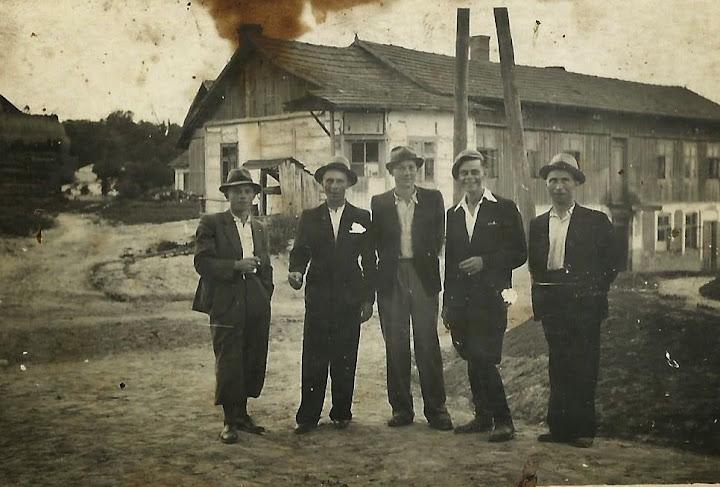 archiwalne zdjęcie zChrobrza przełom lat 20 tych i30 - tych