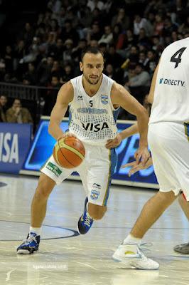 wearing brons nba lebron9 id manu ginobili 07 Wearing Brons: Manu Ginobilis Nike LeBron 9 iD Argentina