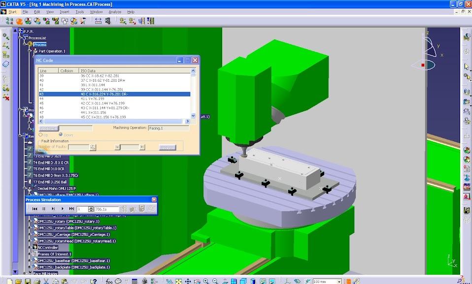 IMSce - уникальное интегрированное решение, позволяющее проводить проверку G-кодов не покидая CAM-среды