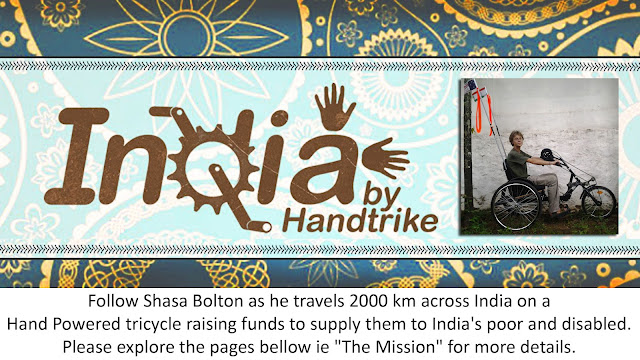 India by handtrike