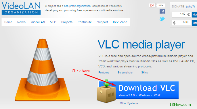 How to download and install VLC Media Player
