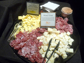 2013 Showcase of Wine and Cheese Boys and Girls Club Portland cheese buffet Kerrybold Whisky Cheddar Solera Winey Goat