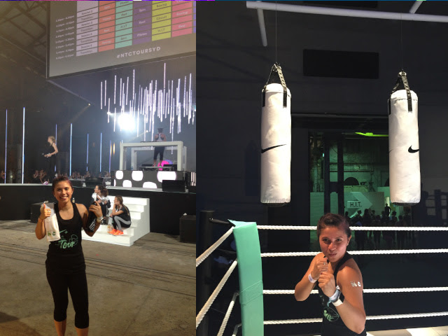 NTC Tour Sydney: Boxing Class