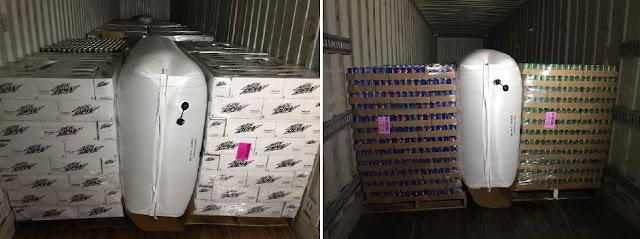 Túi khí chèn hàng container hiệu Stopak
