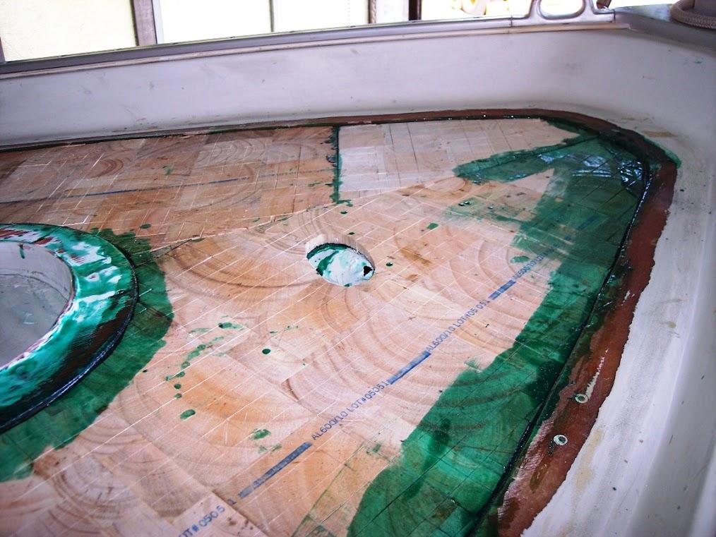 Barron's Marine Deck Re-core After