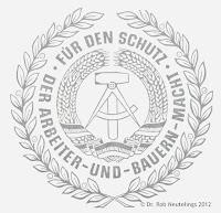 284a Medaille für treue Dienste in den Grenztruppen der Deutsche Demokratische Republik in Gold für 15 Jahre www.ddrmedailles.nl