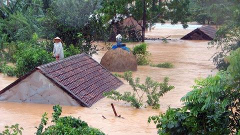 Thơ lũ lụt miền Trung