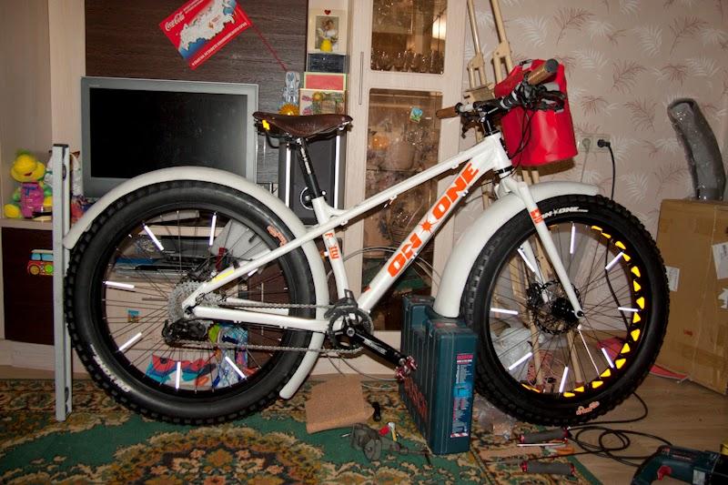 Как собрать фэтбайк своими руками из обычного велосипеда 9