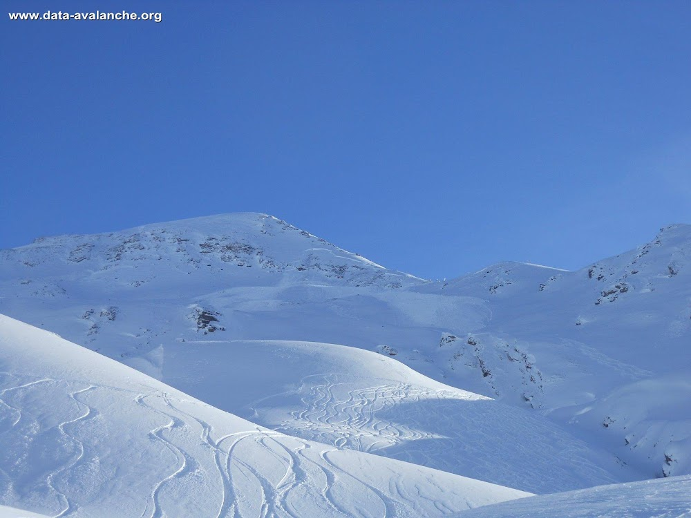 Avalanche Haute Tarentaise, secteur Col de l'Iseran, Signal Face Nord - Photo 1