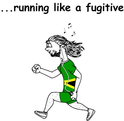 Funny Running T-shirt