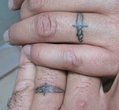 All Tattoo Design 50 Greatest Wedding Ring Tattoos Styles And Concepts