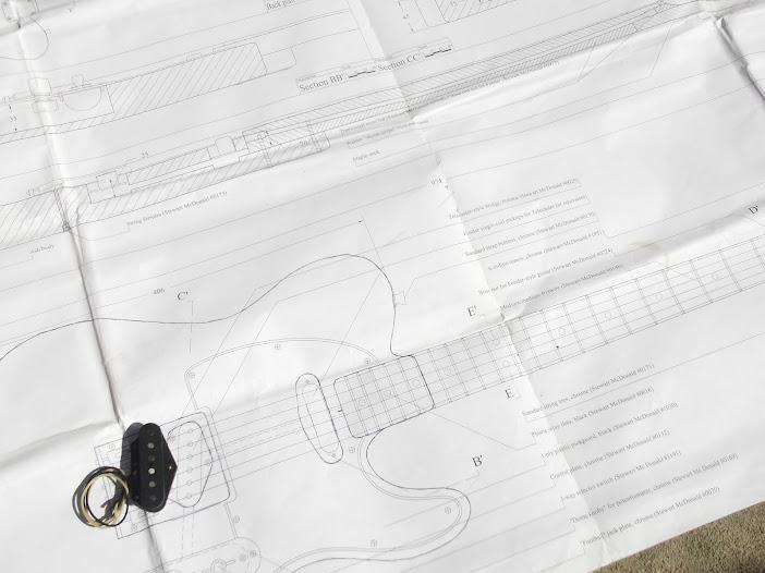 Construção guitarra telecaster, meu 1º projeto bolt on. Finalizado e com vídeo DSCF0809
