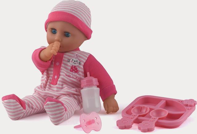 Hình ảnh các dụng cụ chăm sóc đẹp mắt và Búp Bê Em bé Phoebe Dolls World