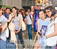 不少粉絲昨日到書展支持莊思敏。