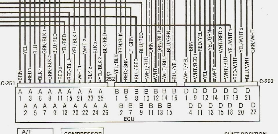 B21ECU h22a wiring diagram 4 way wiring diagram \u2022 wiring diagrams j h22a wiring harness diagram at bayanpartner.co